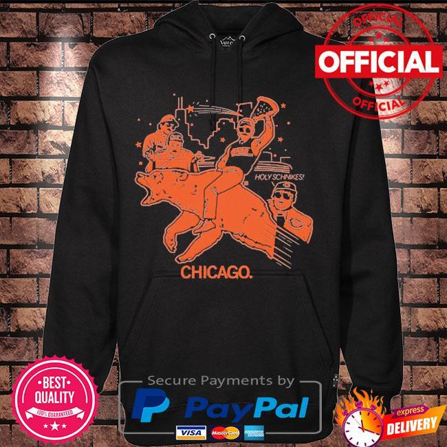Chicago holy schnikes s Hoodie black