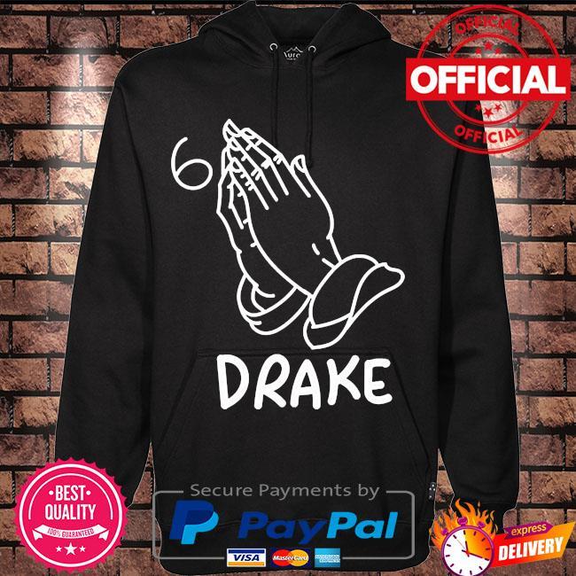 Drake join the pray rap music s Hoodie black