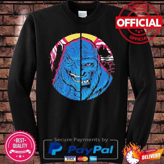 Godzilla vs kong s Sweater black