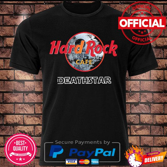 Hard rock cafe deathstar shirt