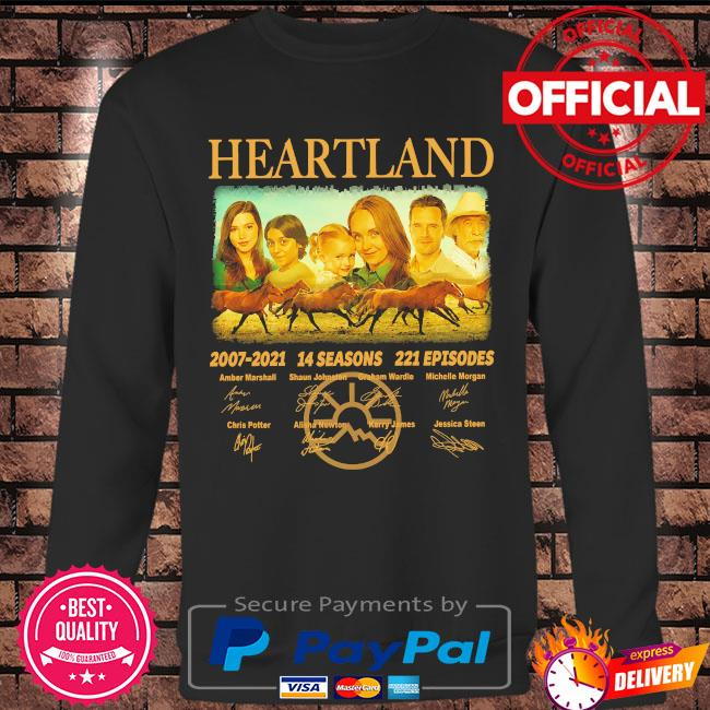 Heartland 2007 2021 14 seasons 221 episodes signatures s Long sleeve black