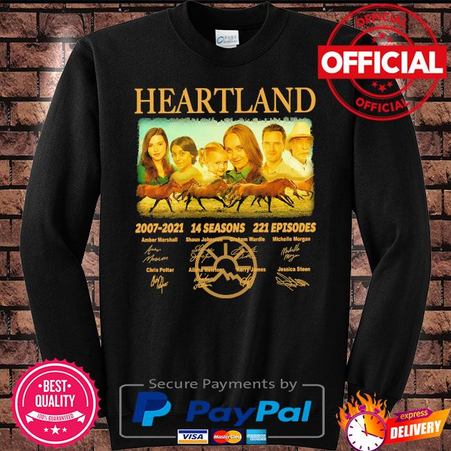 Heartland 2007 2021 14 seasons 221 episodes signatures s Sweater black