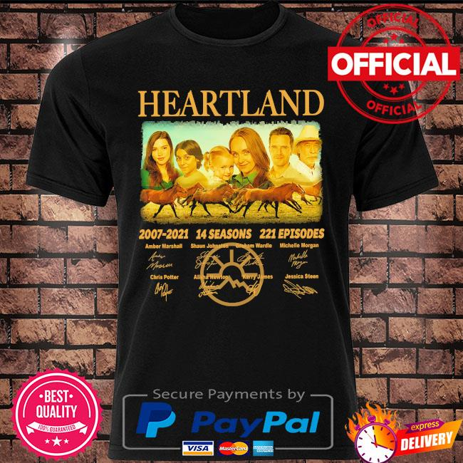 Heartland 2007 2021 14 seasons 221 episodes signatures shirt