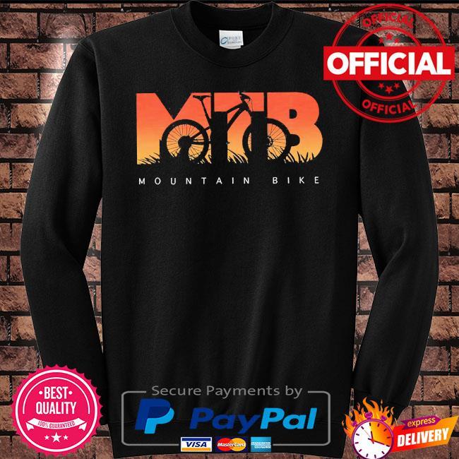 Mtb mountain bike s Sweater black