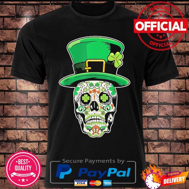 Sugar Skull St.Patrick's day shirt