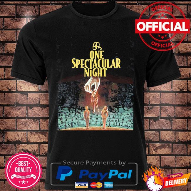 Ajr's one spectacular night merch shirt