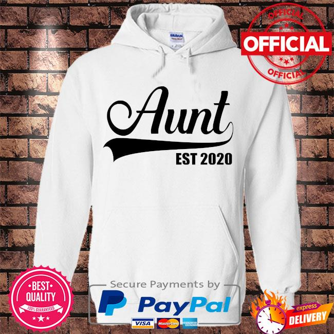 Auntie est 2020 s Hoodie white