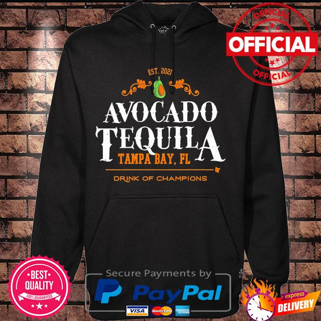 Avocado tequila tampa bay florida drink of champions s Hoodie black