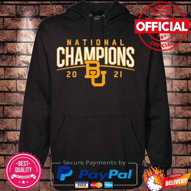 Baylor Bears national champions 2021 s Hoodie black