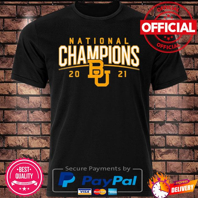 Baylor Bears national champions 2021 shirt