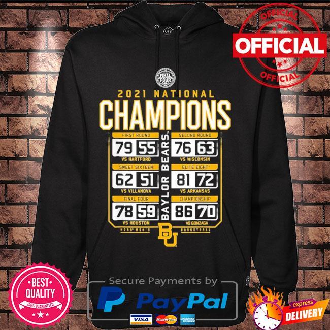 Baylor national championship 2021 s Hoodie black