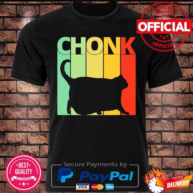 Black Cat Chonk vintage shirt