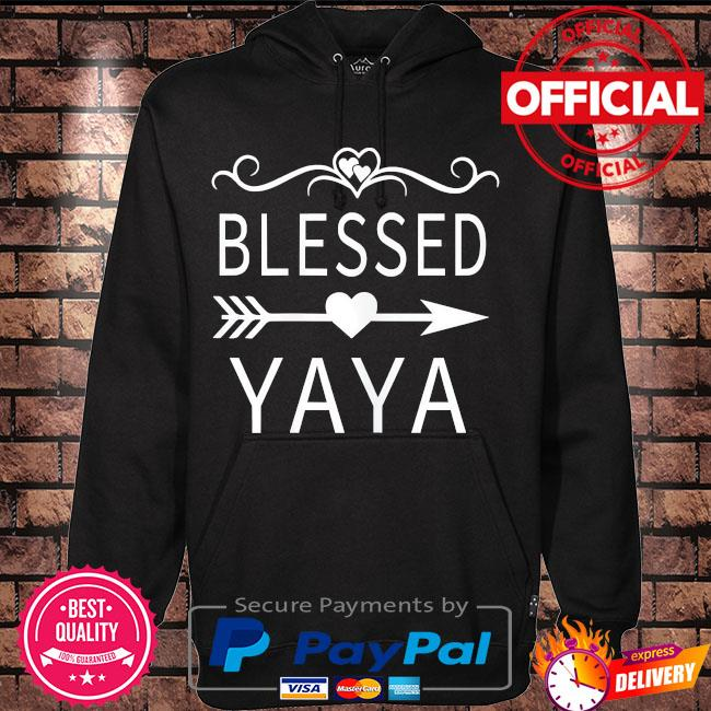 Blessed yaya mother's day s Hoodie black