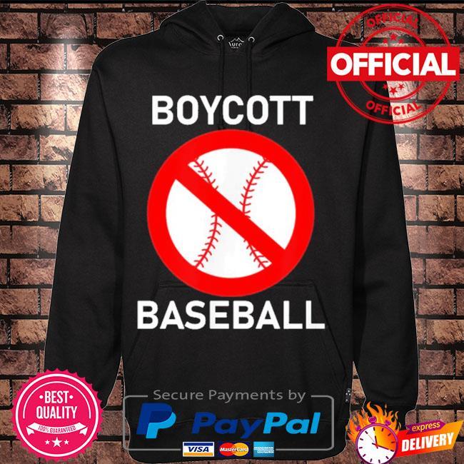 Boycott baseball s Hoodie black