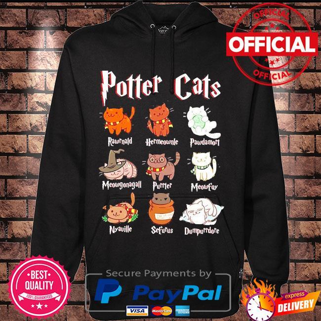 Cat halloween hogwarts s Hoodie black