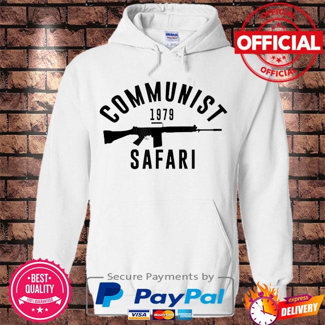 Communist 1979 safari s Hoodie white