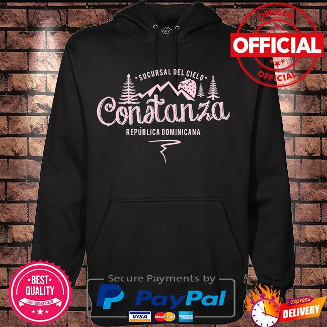 Constanza la vega dominican republic souvenir s Hoodie black