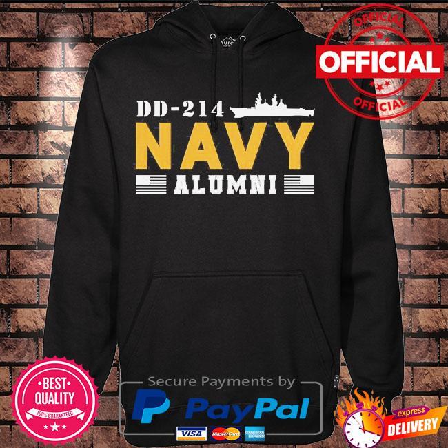 Dd-214 us navy alumni s Hoodie black