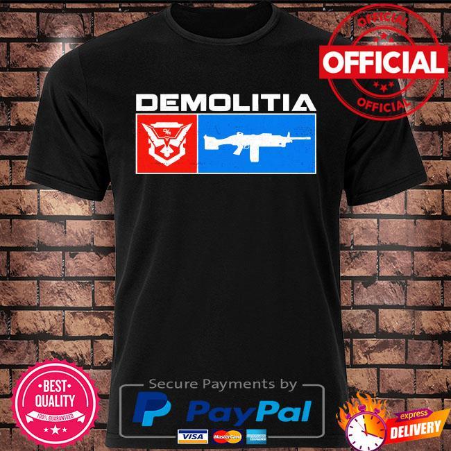 Demolition ranch demo saw patriot shirt