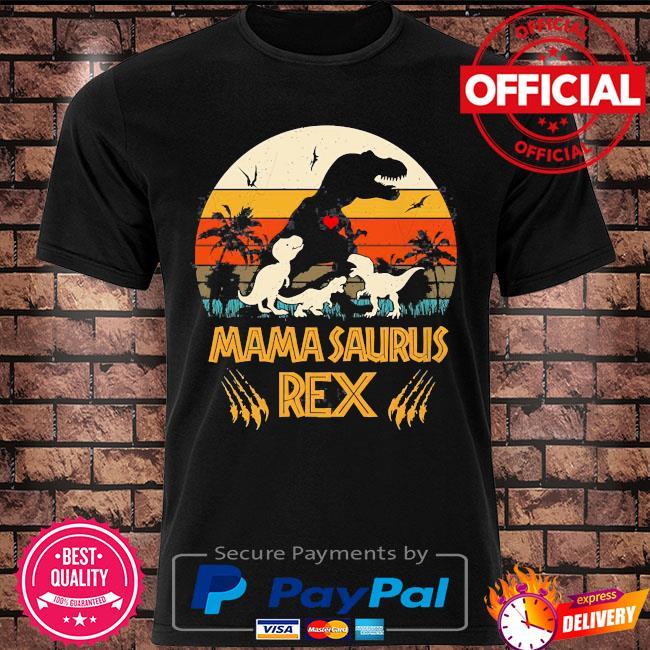 Dinosaur mamasaurus rex vintage shirt