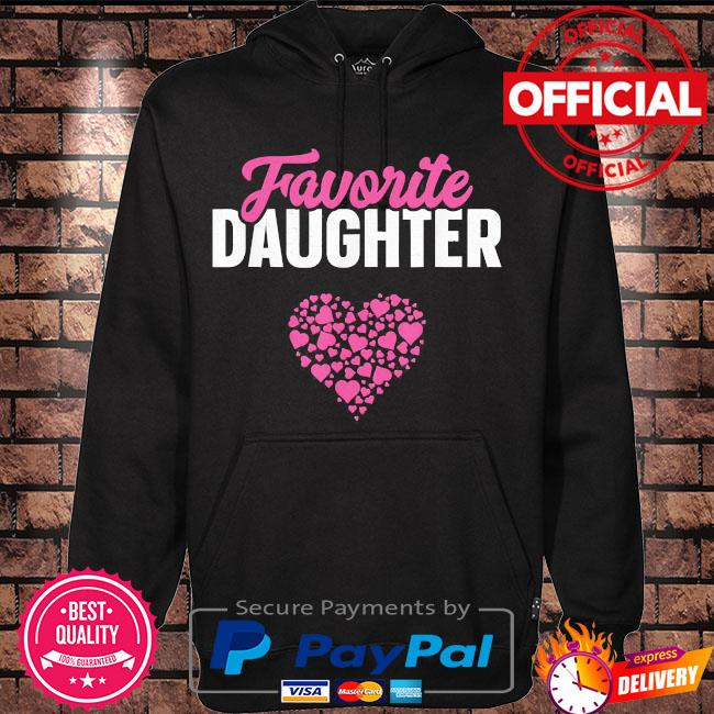 Favorite daughter mother's day s Hoodie black