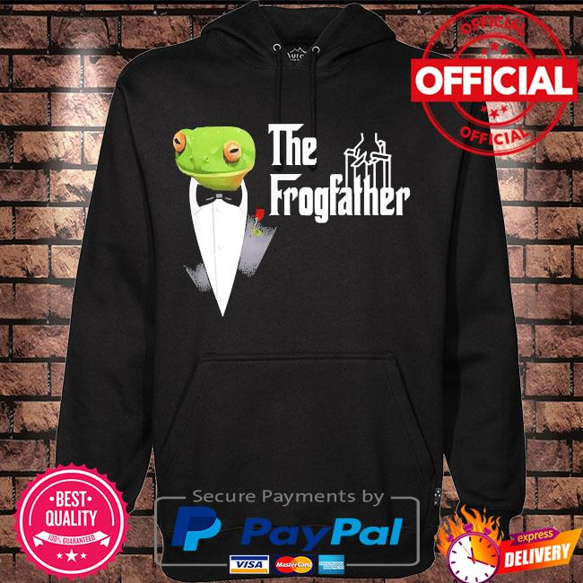 Frog father or frogfather for frogs fan frog lovers s Hoodie black