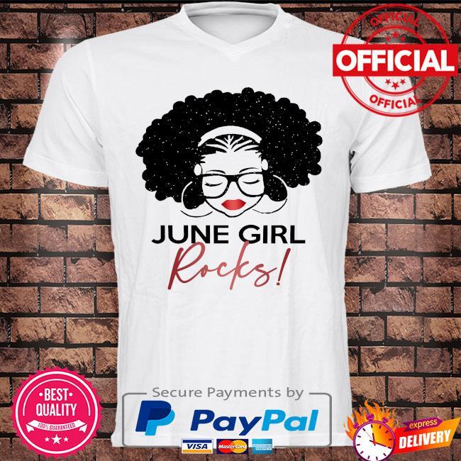 June Girl Rocks shirt