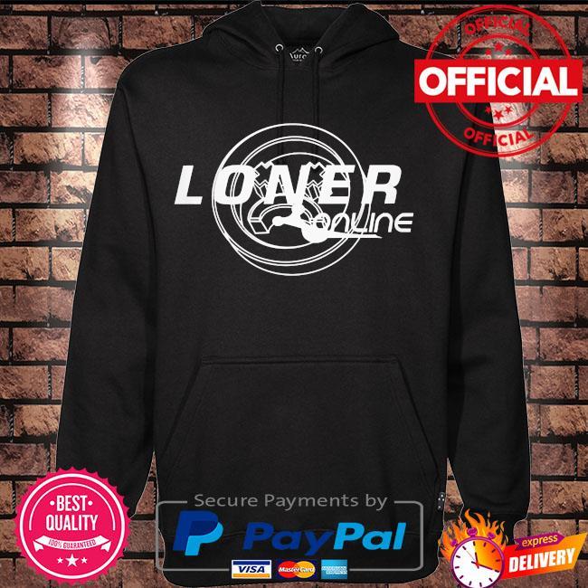 Loner online s Hoodie black