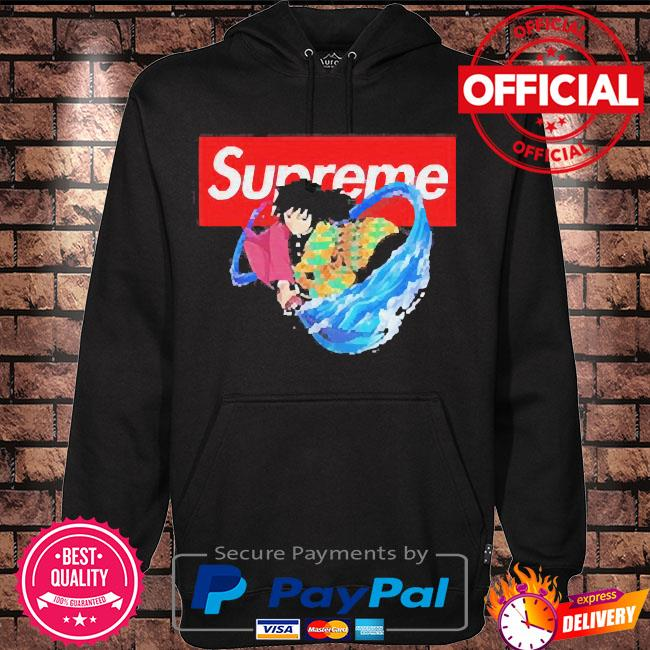 Supreme giyuu s Hoodie black