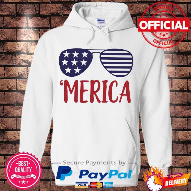 Merica s Hoodie white
