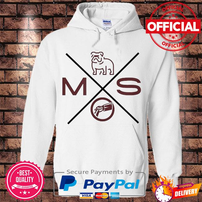 Miss state dogs university life s Hoodie white