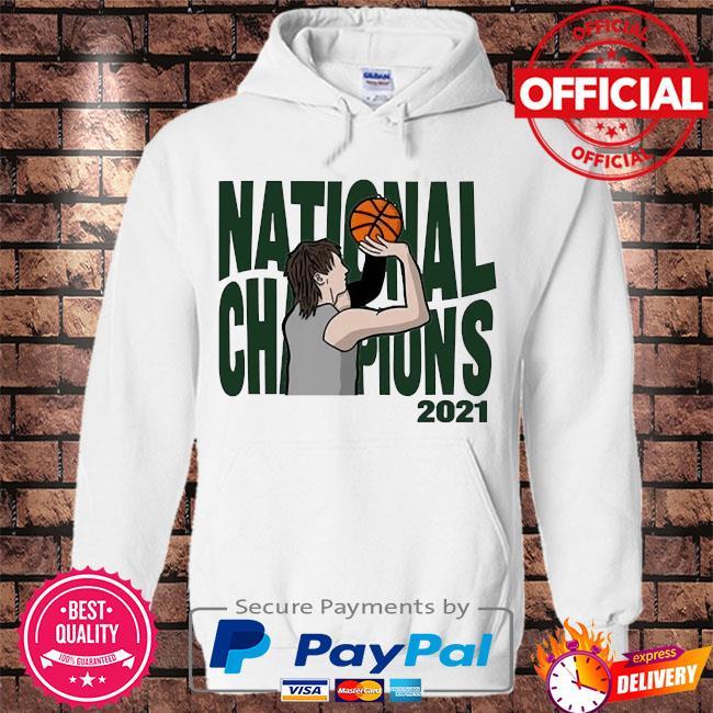 National Champions 2021 s Hoodie white