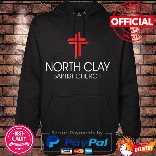 North clay baptist church s Hoodie black