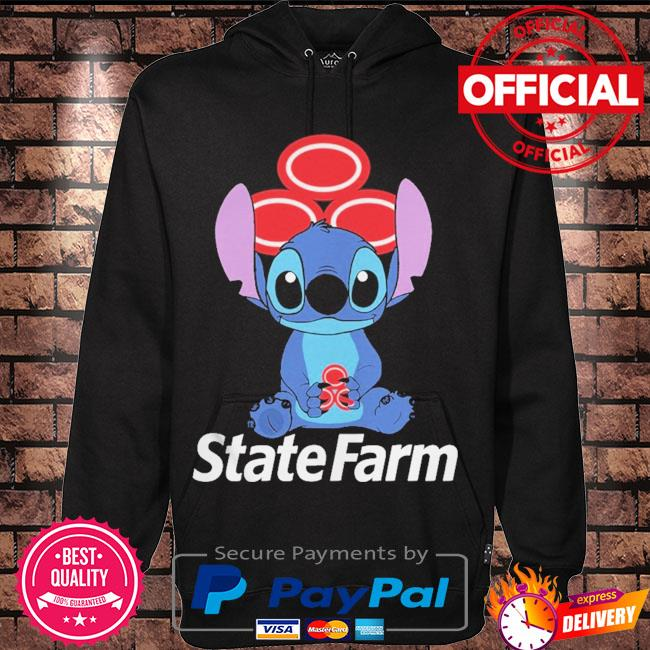 Official Baby stitch hug State Farm 2021 s Hoodie black