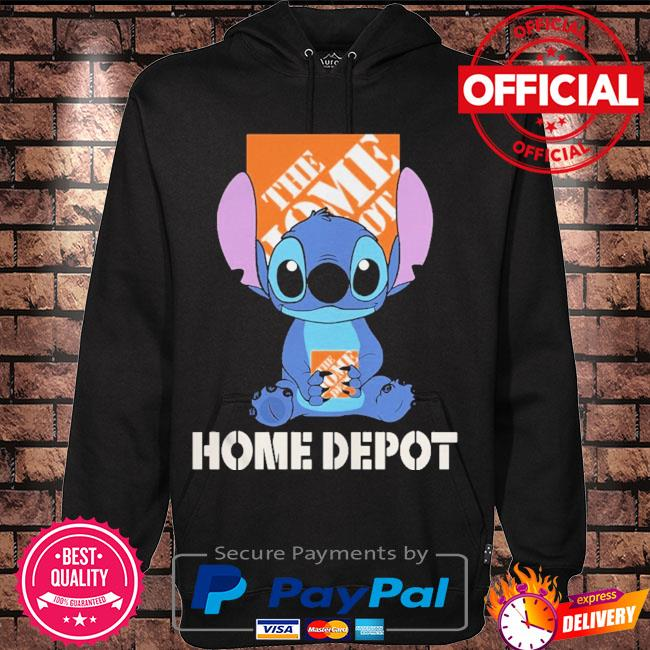 Official Baby stitch hug The Home Depot 2021 s Hoodie black
