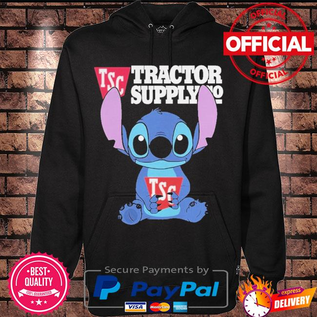Official Baby stitch hug tsc tractor supply 2021 s Hoodie black