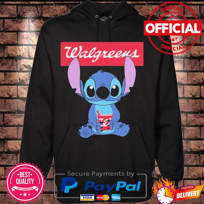 Official Baby stitch hug Walgreens 2021 s Hoodie black
