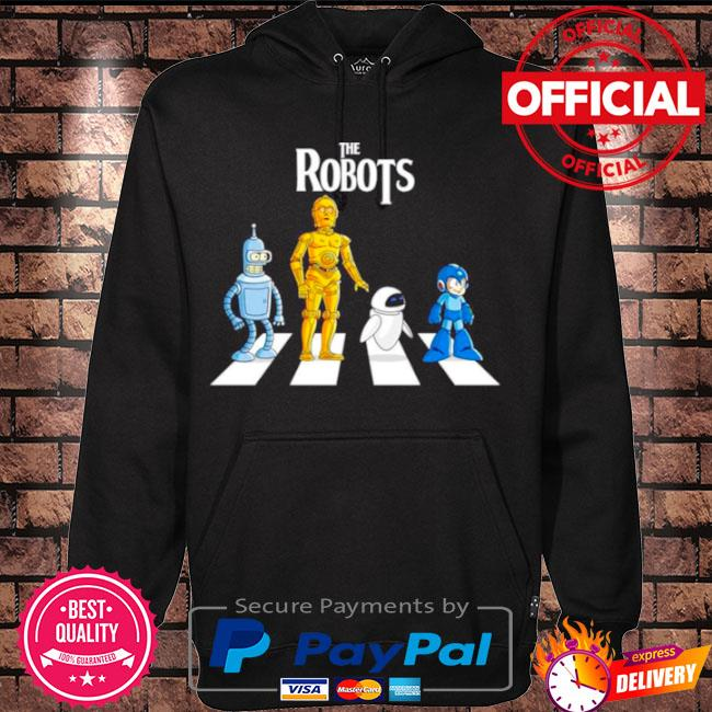 Official Star wars the robots abbey road s Hoodie black