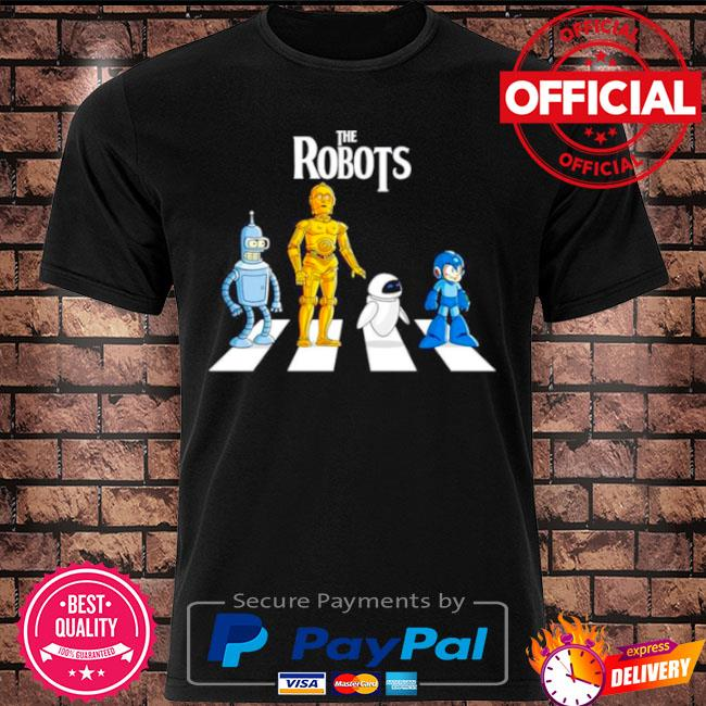 Official Star wars the robots abbey road shirt