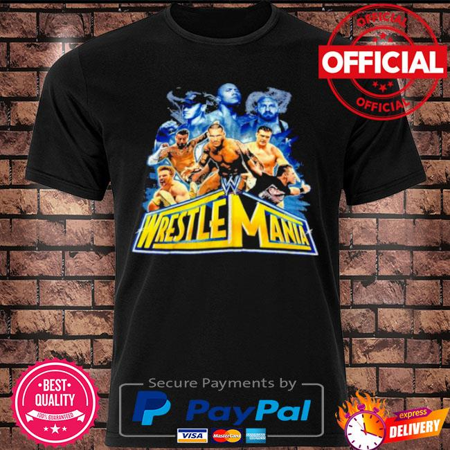 Official Wrestlemania 2021 wwe fan shirt