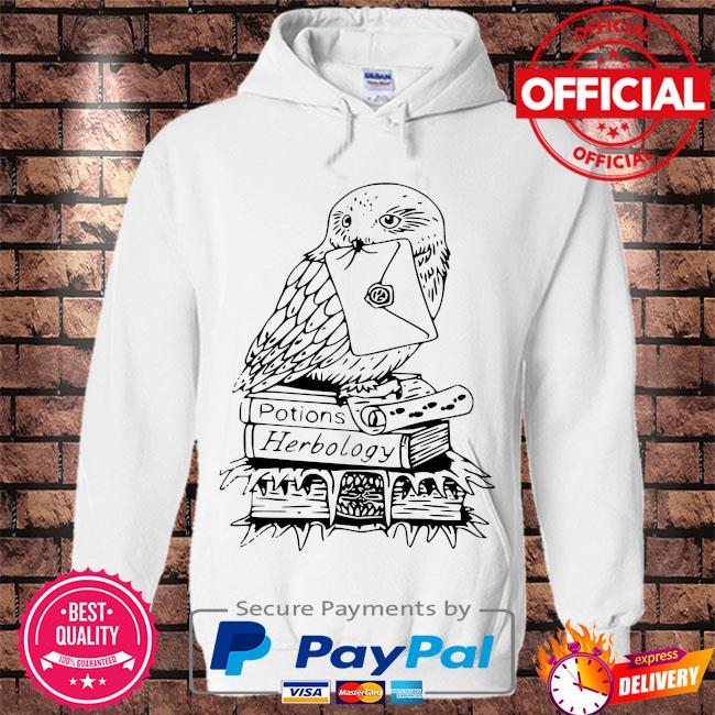 Owl potions herbology s Hoodie white