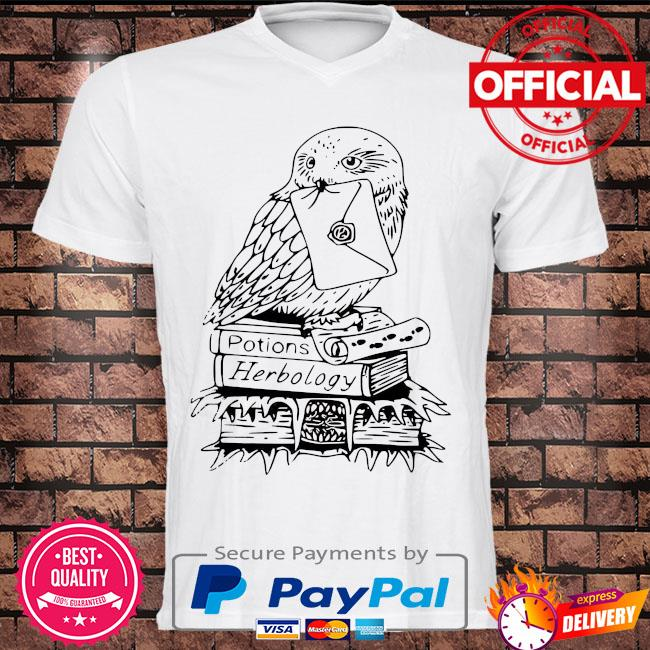 Owl potions herbology shirt
