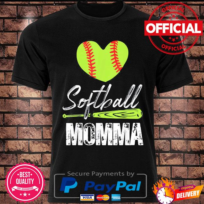 Softball momma catcher pitcher mothers day us 2021 shirt