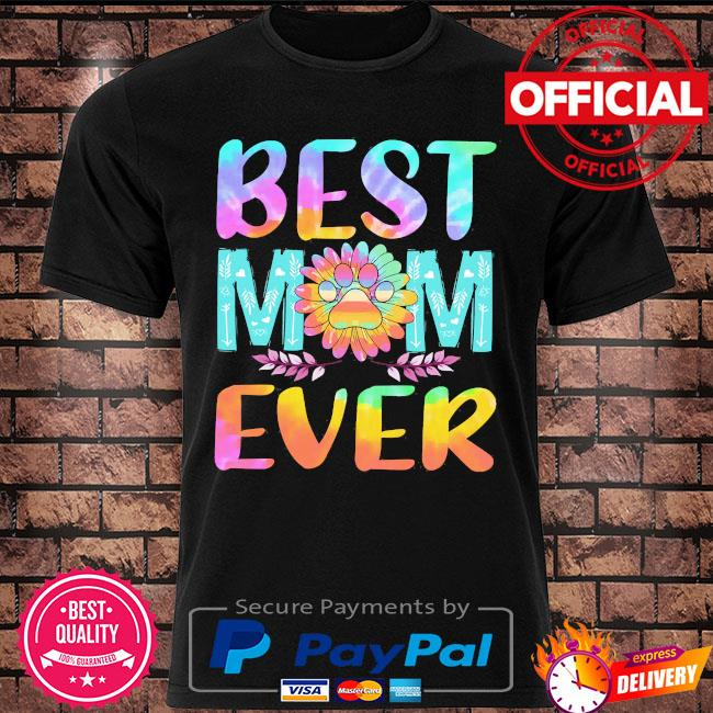 Sunflower Dog best mom ever shirt