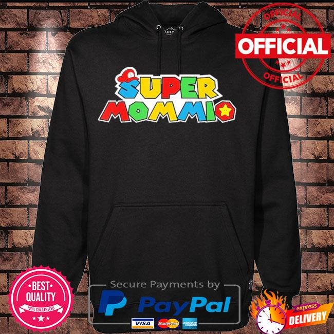 Super mommio video game lover mothers day 2021 s Hoodie black