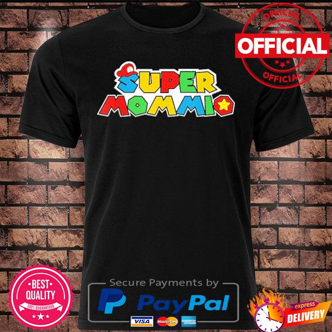 Super mommio video game lover mothers day 2021 shirt