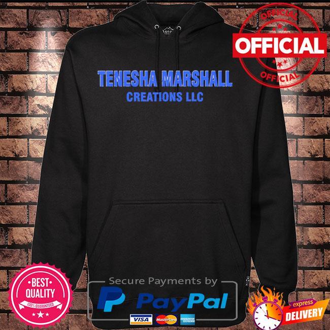 Tenesha marshall creations llc 2021 s Hoodie black