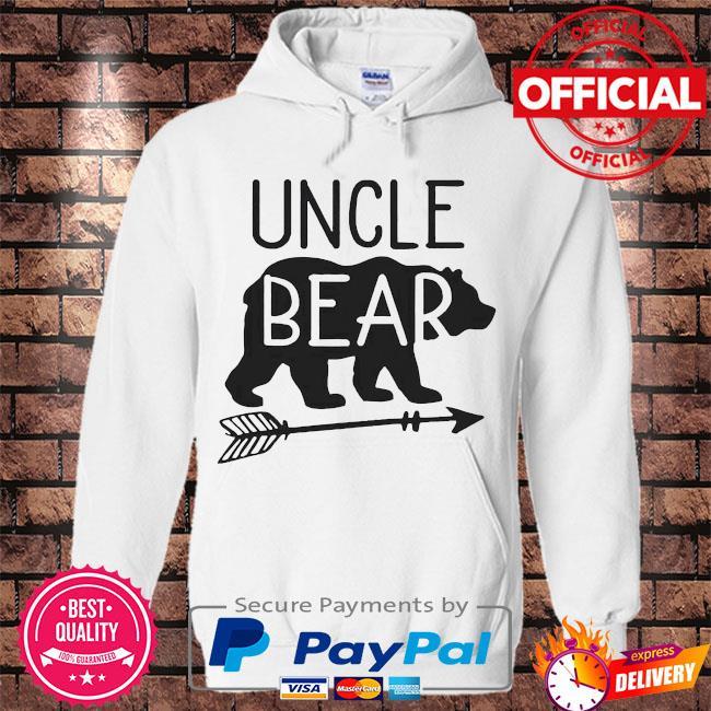 Uncle bear s Hoodie white