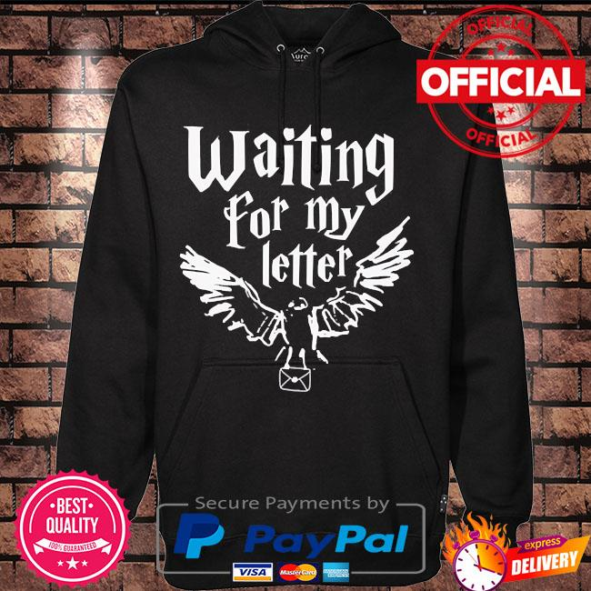 Waiting for my letter s Hoodie black