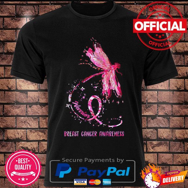 Warrior breast cancer awareness shirt